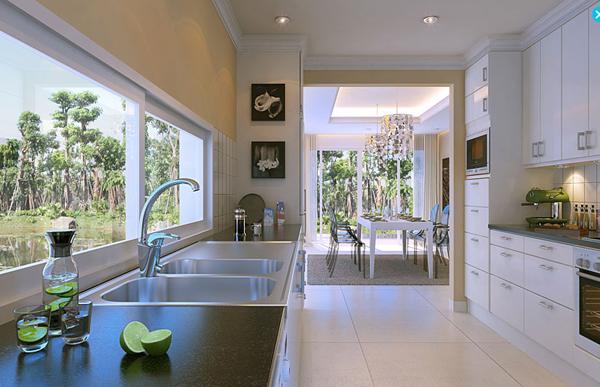 thiết kế nội thất, cảnh quan biệt thự ecopak, vincomvillage,an hung, van phu