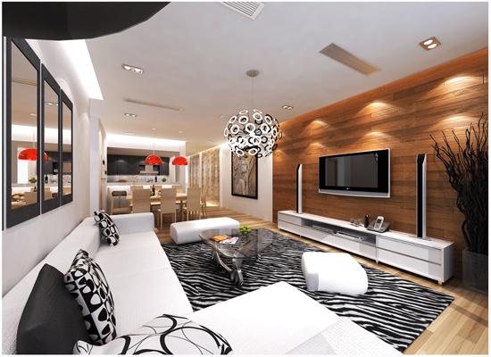thiết kế nội thất biệt thự cao cấp, chung cư cao cấp