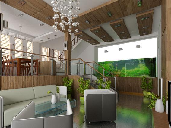 Thiết kế biệt thự - Biệt thự vườn Hà Đông