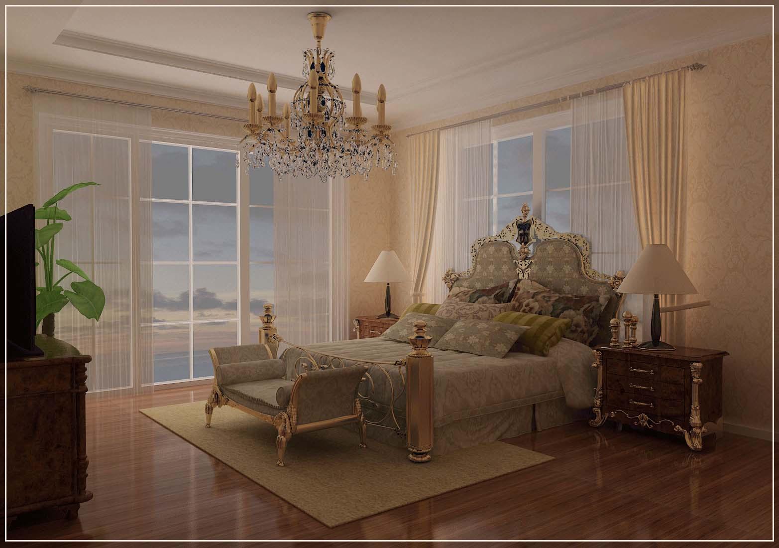 Thiết kế biệt thự vườn - Phòng ngủ