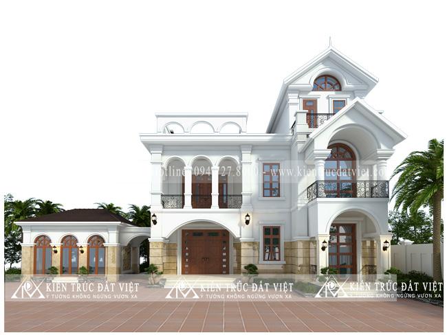 Thiết kế cải tạo nhà dân thành biệt thự đẹp bắc nin